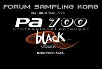 Wallpaper Editing Korg PA600