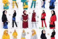 Setelan Pakaian Olahraga Wanita